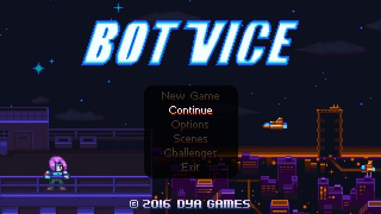 Relive the early days of gaming with 'Bot Vice' and it's massive '90s arcade appeal
