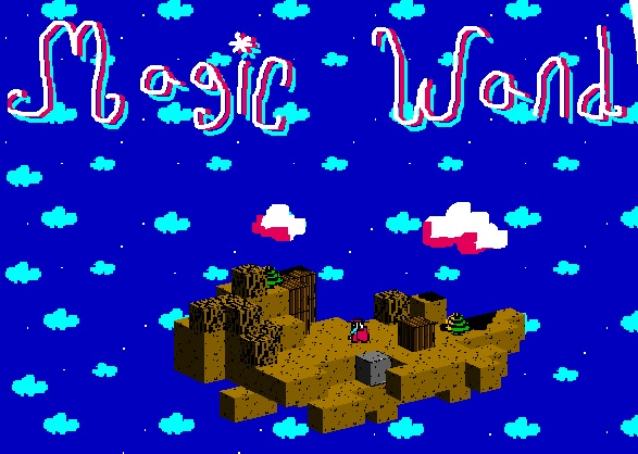Play as a sword-wielding crocodile and destroy pots in 'Magic Wand'