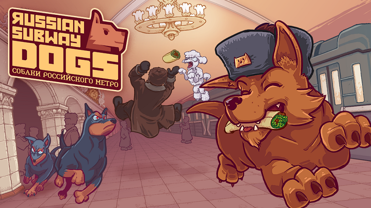 Bark for food, battle bears, and use vodka as a weapon, in 'Russian Subway Dogs'