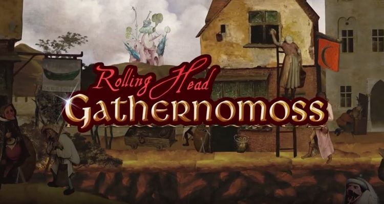 'Gathernomoss' follows an errant head on a platforming journey through modern art