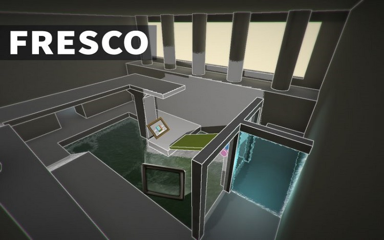Challenge your perspective and puzzle-solving skills in 'Fresco'