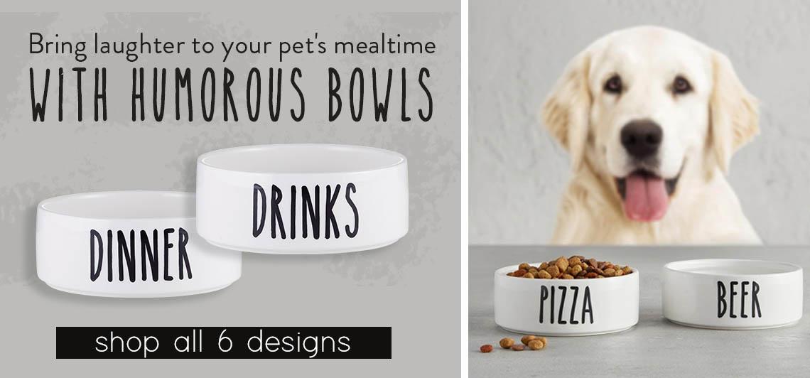 Pet Bowls - Shop Now