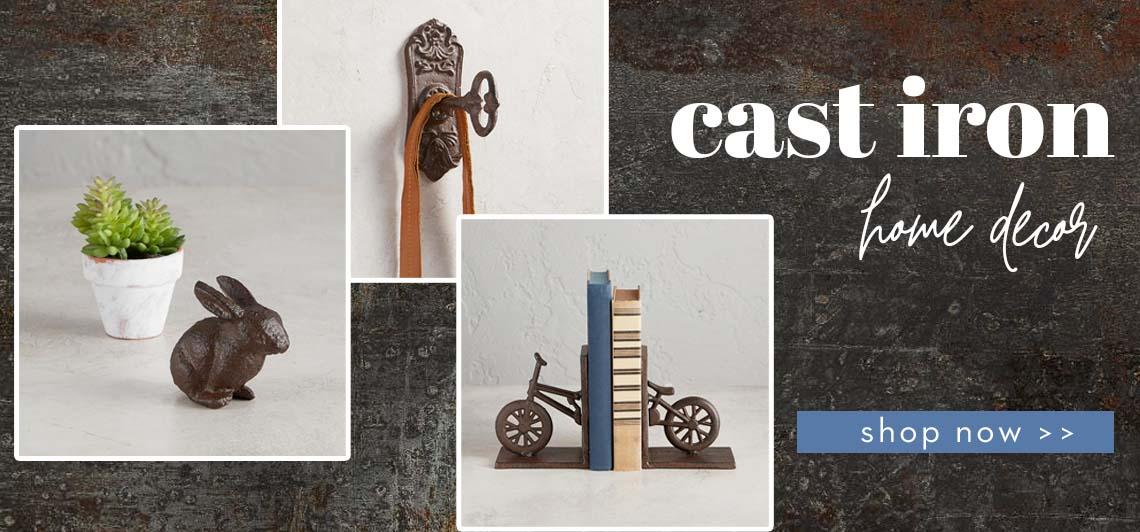 Cast Iron Home Decor - Shop Now