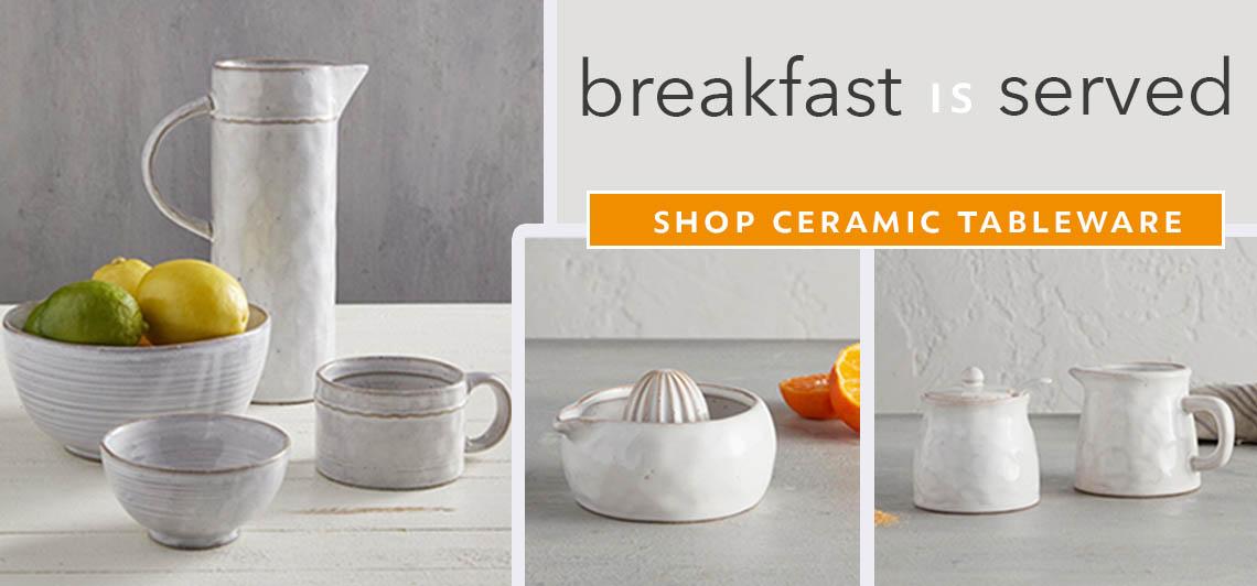 Ceramic Tableware - Shop Now