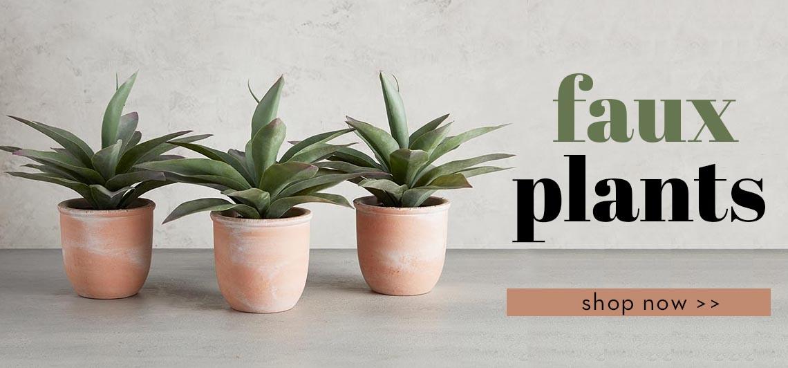 Faux Plants - Shop Now