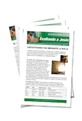 Lifting Up Jesus Bible Study Lessons Complete Set - Spanish