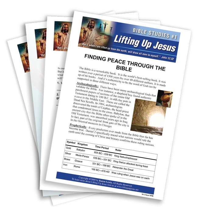HART Products - Lifting Up Jesus Bible Study Lessons