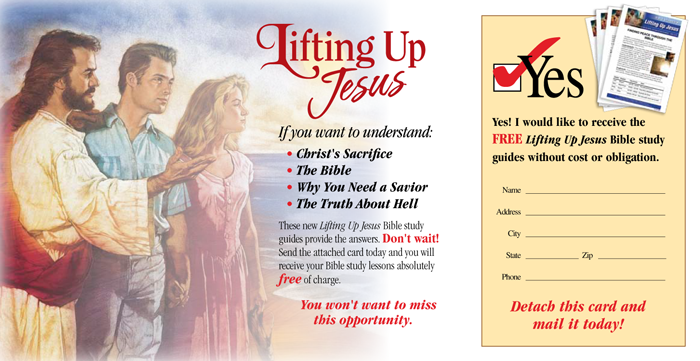Bible Study Cards - Lifting Up Jesus (The Cross) Bible Study