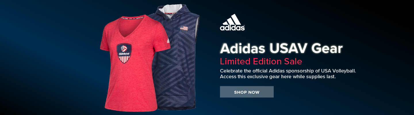 Limited Edition Adidas USAV Gear