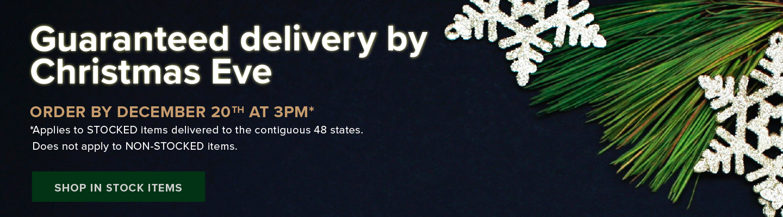 AVB Guaranteed Delivery Christmas Eve