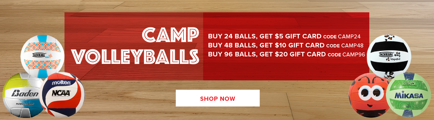 Camp Volleyballs Promo Deal
