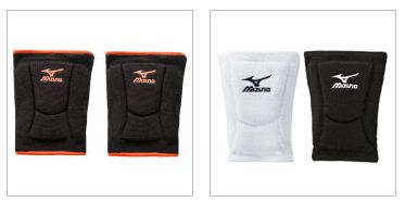 Mizuno low profile volleyball knee pads