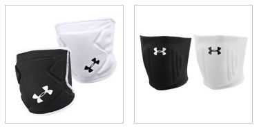 Under Armour low profile volleyball knee pads