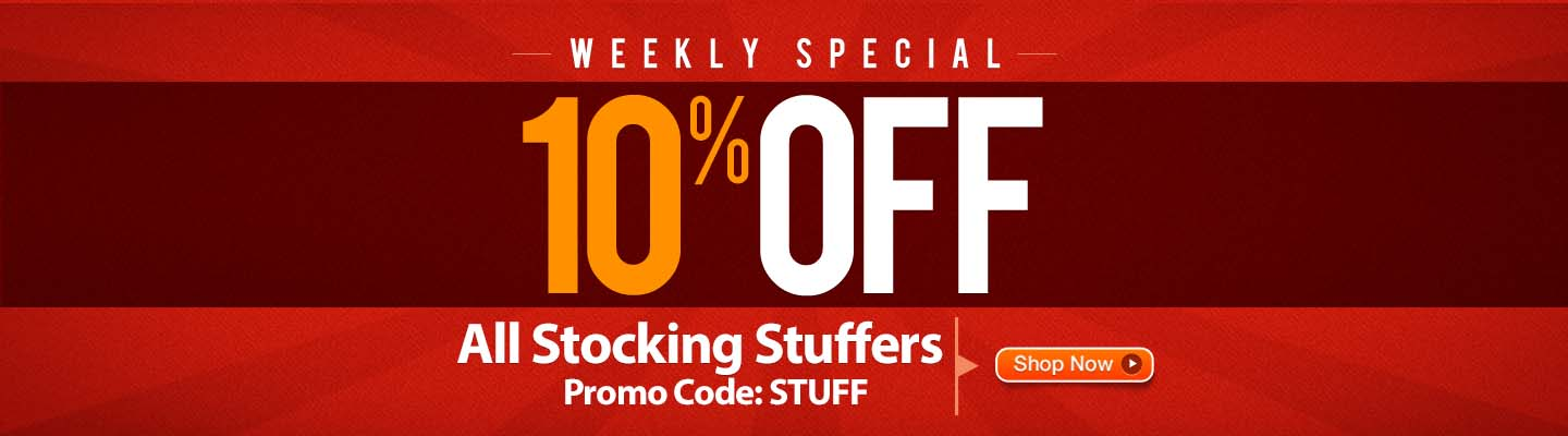 10% Off Stocking Stuffers