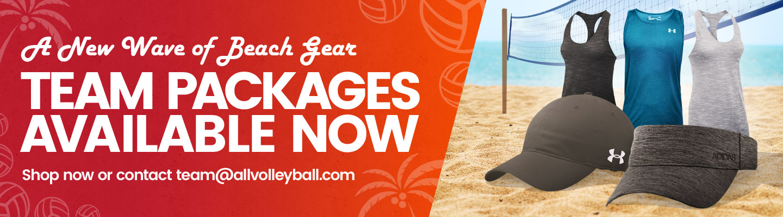 Women's Beach Volleyball Gear