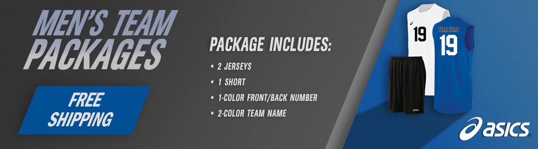 Men's Team Packages