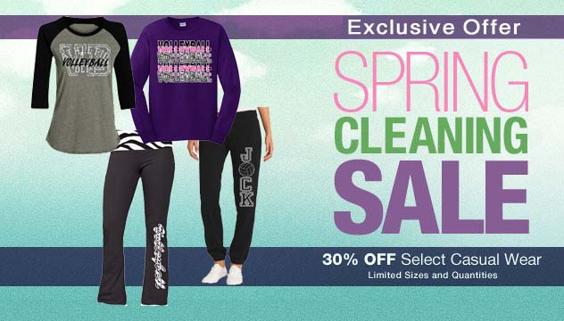 Spring Cleaning Casual Wear Sale