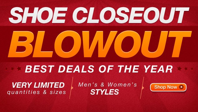 Shoe Closeout Blowout
