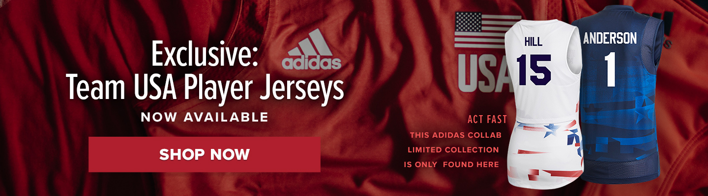 Adidas USAV limited collection. 2021 Olympics begin on July 23rd. Shop now!