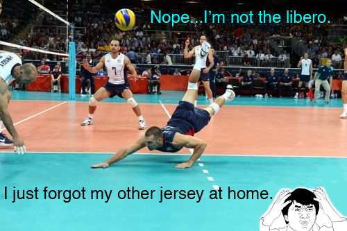 Libero Forgot My Jersey