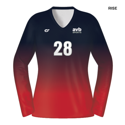 Home · Women s Volleyball Apparel · Women s Volleyball Jerseys. Custom Fuze Women s  Sublimated Select Series Long Sleeve Jersey ec7756008bfb8