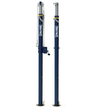 Spalding Elite Aluminum Volleyball Upright Package