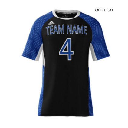 Adidas Men's mi Team (Custom / Sublimated) Short Sleeve Jersey
