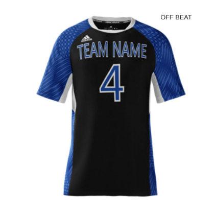Adidas Men s mi Team (Custom   Sublimated) Short Sleeve Jersey ed84ab3b485f