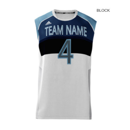 50ba0cf36aaf Adidas Men s mi Team (Custom   Sublimated) Sleeveless Jersey