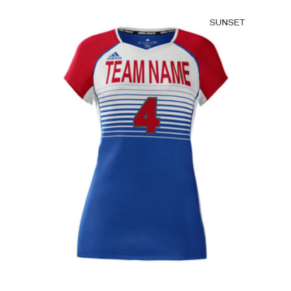 259c753b2a85 Adidas Women s mi Team (Custom   Sublimated) Cap Sleeve Jersey
