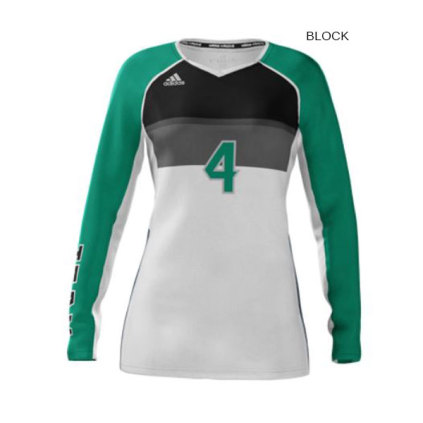 59f056f9161f Adidas Women s mi Team (Custom   Sublimated) Long Sleeve Jersey