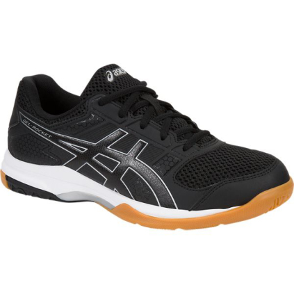 5d44e3997a7d ASICS Women s Gel-rocket 8 Volleyball Shoe 7 B Black black white. About  this product. Picture 1 of 2  Picture 2 of 2