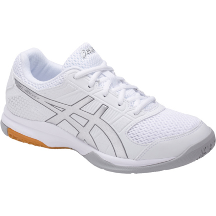 511849560de1 Stocked Products | ASICS Women's Gel-Rocket 8 - White/Silver