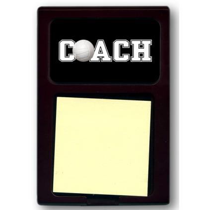 Coach Sticky Note Holder