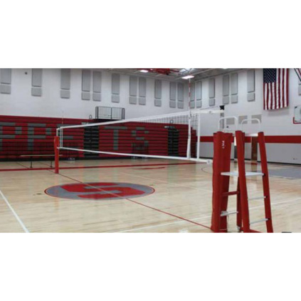 Gared 6100 RallyLine 2-Pole Telescopic Aluminum Volleyball System