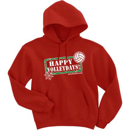 Happy Volleydays Hoodie