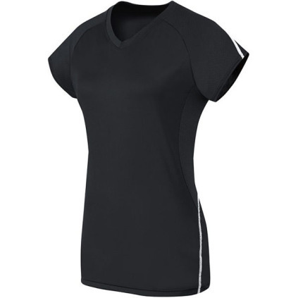 HI42172 Women's Solid Short Sleeve Jersey