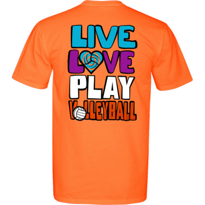 Live, Love, Play Volleyball T-Shirt