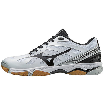 Home · Women's Volleyball Apparel · Women's Volleyball Shoes. Mizuno Women's  Wave Hurricane 3 - White/Silver