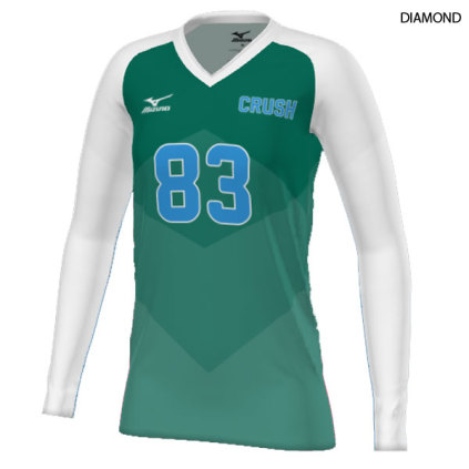 mizuno volleyball jersey custom xl