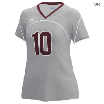 reputable site 2066d e6c9a Mizuno Women's Custom Sublimated Short Sleeve Jersey