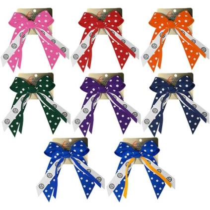 Polka Dot Hair Bows