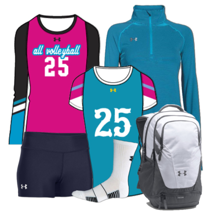 Under Armour Volleyball Team Package #3
