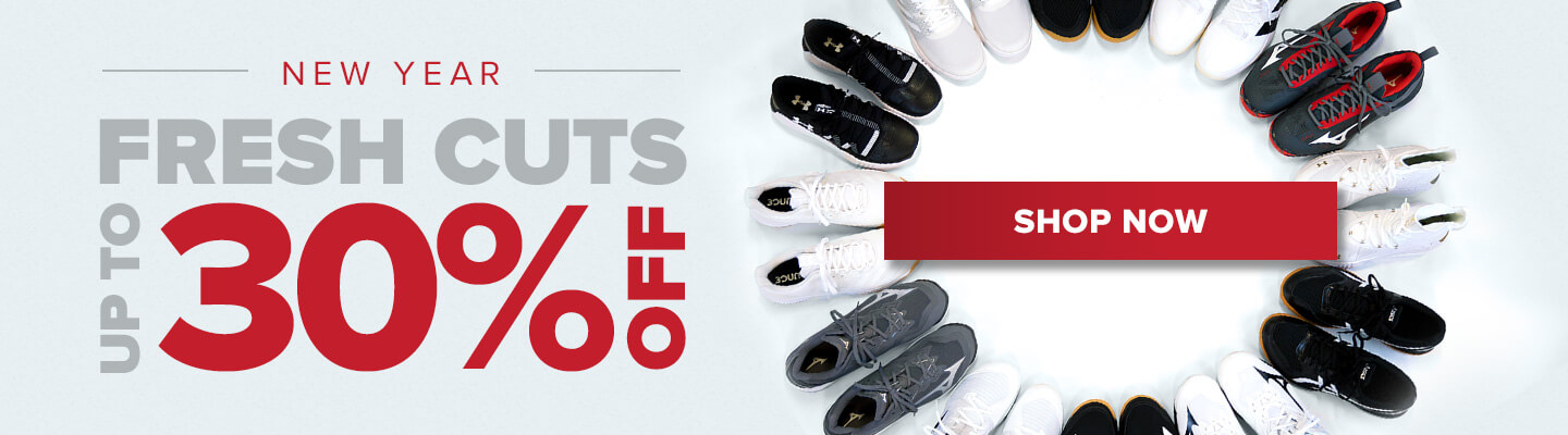 New Year. Fresh cuts. Up to 30% off. SHOP NOW!