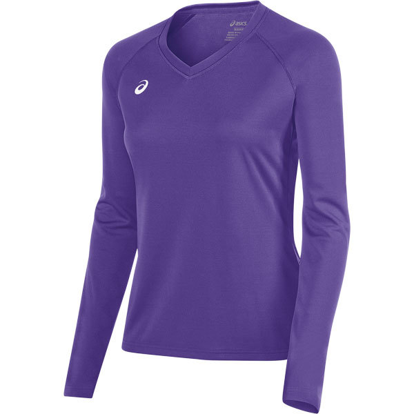 d955c537658d Asics Long Sleeve Volleyball Jersey