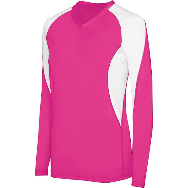 buy online f28c2 7d47e High Five Women's Court Long Sleeve Jersey