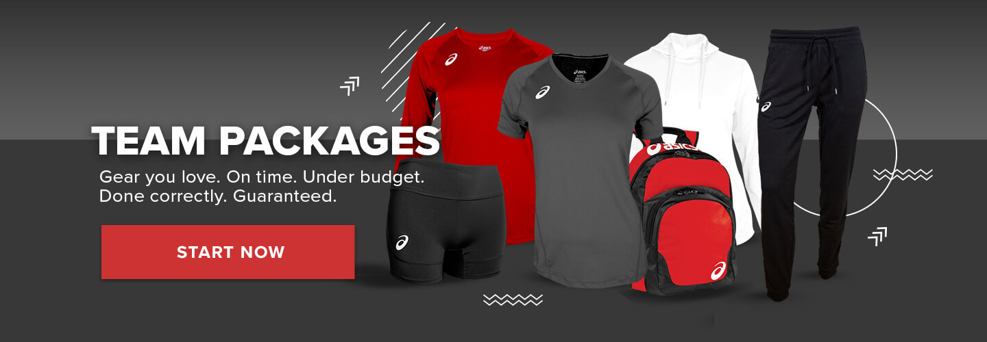 Team Packages. Gear you love. On time. Under budget. Done Correctly. Guaranteed. Start now!
