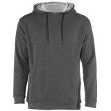 Badger Men's FitFlex French Terry Hoodie Charcoal