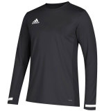Adidas Men's Team 19 Long Sleeve Jersey Black