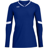 Under Armour Women's Powerhouse Long Sleeve Jersey Royal